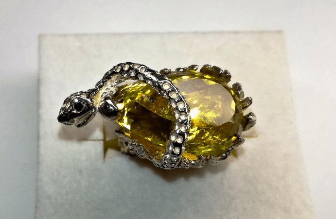 Украшения с цитрином в серебре: стильные решения на любой вкус