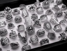Дизайнерские украшения из серебра