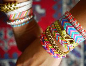Фенечка, или браслет дружбы: происхождение, значение, как носить