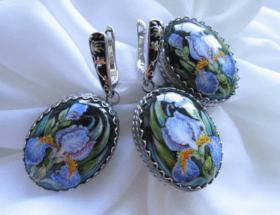 Финифть – уникальные украшения в серебре, стильно и изысканно