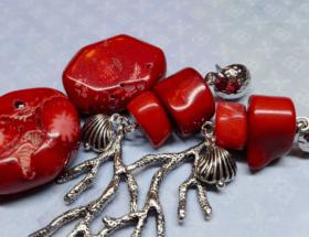 Украшения с кораллом в серебре: как правильно выбирать, носить и ухаживать за изделиями