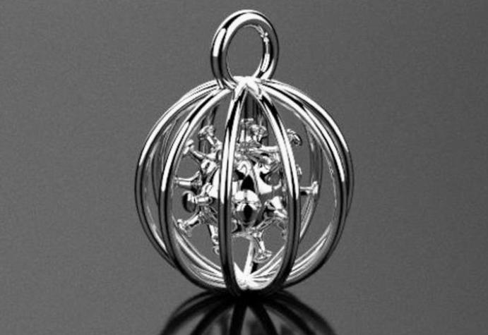 Кулон Коронавирус. Как выглядит символ