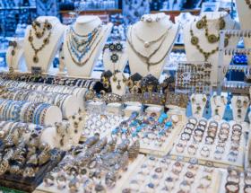 Турецкие украшения из серебра с натуральными камнями