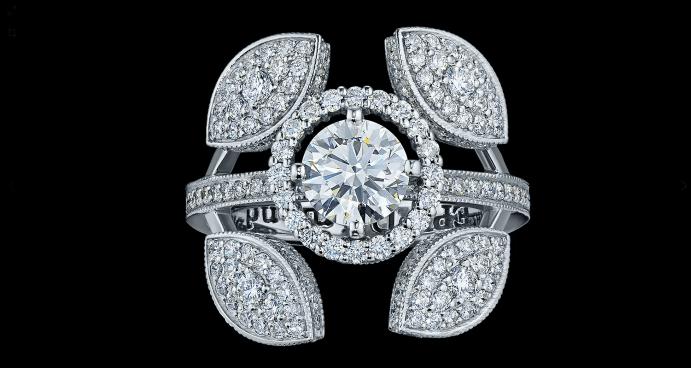 Ювелирные украшения с якутскими бриллиантами. Бриллианты