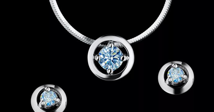 Ювелирные украшения с якутскими бриллиантами. Кулон