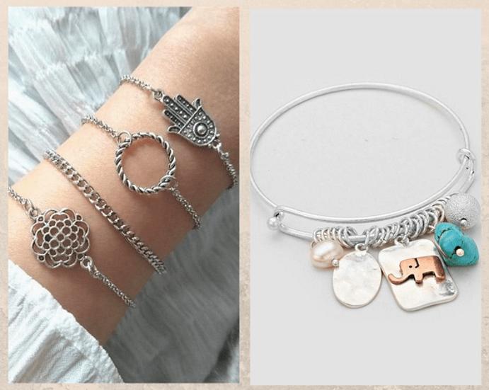 24 идеи ювелирных подарков к Новому году: маме, сестре, любимой. Серебряный браслет