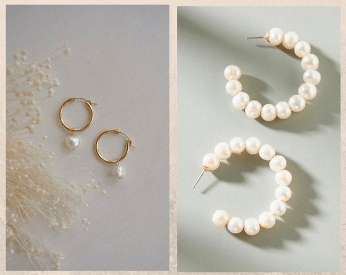 24 идеи ювелирных подарков к Новому году: маме, сестре, любимой. Серьги с жемчугом
