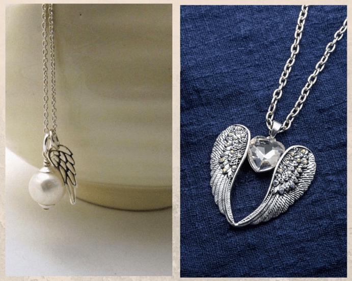 24 идеи ювелирных подарков к Новому году: маме, сестре, любимой. Подвеска Ангел