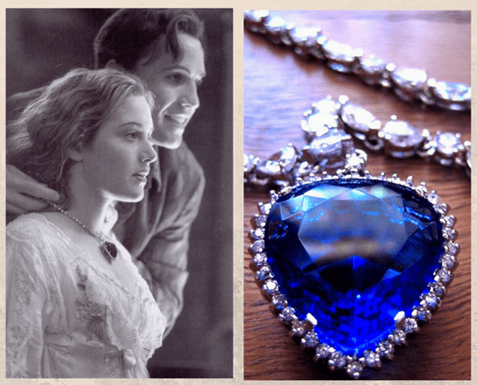«Титаник»: ожерелье с голубым бриллиантом