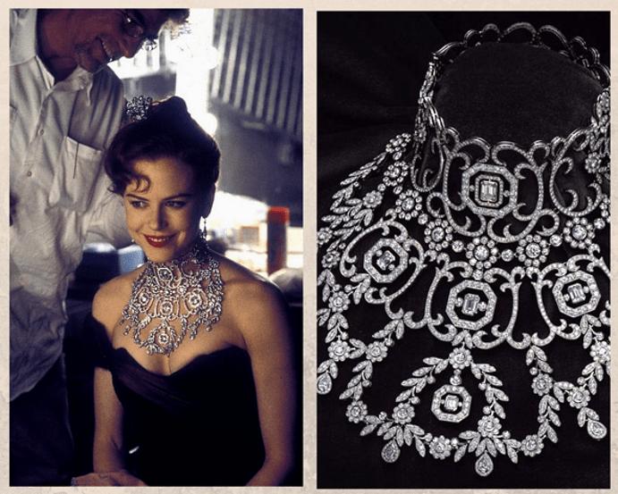 Мулен Руж: ожерелье с бриллиантами