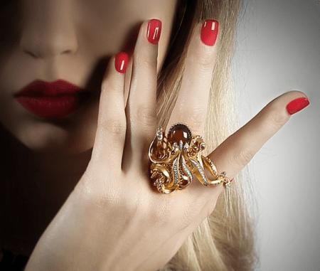 Эксклюзивные подарки в интернет-магазине Бокадо. Кольцо на 2 пальца «Осьминог»
