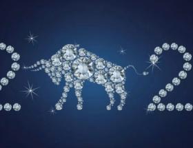 Ювелирные украшения с белым Быком — главным символом 2021 года