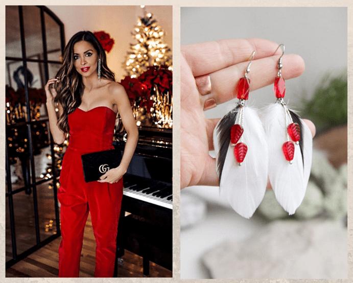 Как выбрать серьги в подарок к Новому году. По форме и линиям лица