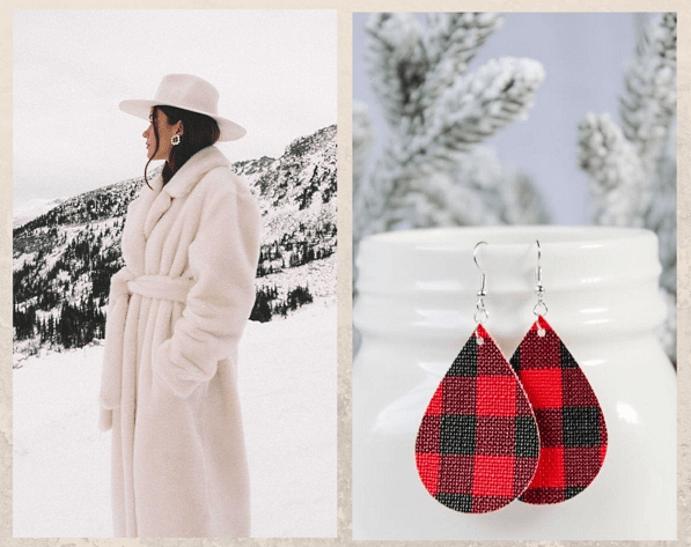 Как выбрать серьги в подарок к Новому году. По цвету глаз форме прически