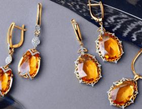 Желтые камни в украшениях: все оттенки солнечного цвета