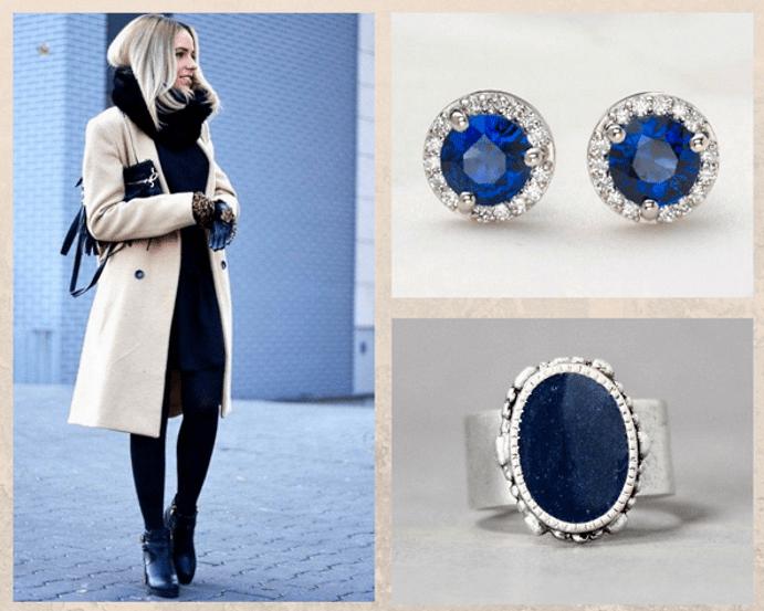 Драгоценные камни, которые стоит носить зимой. Сапфир, танзанит, ляпис-лазурь