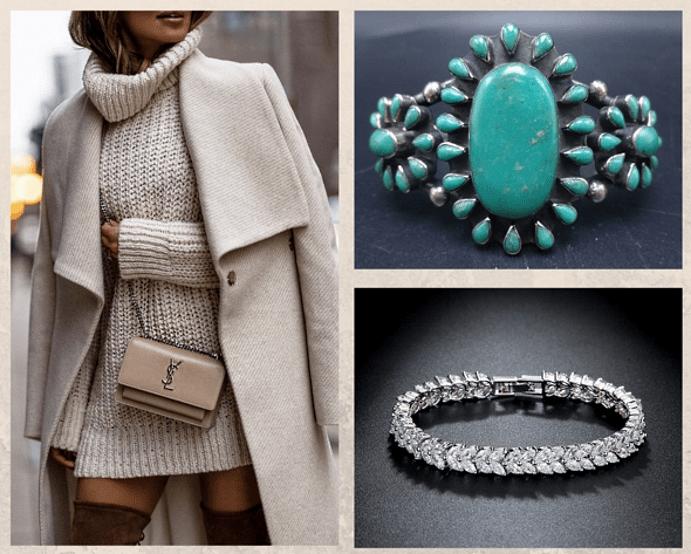 Драгоценные камни, которые стоит носить зимой. Янтарь, бирюза, бриллианты, фианиты