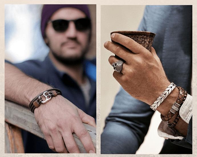 Модные мужские браслеты 2021 года. Мужские браслеты из металла — вариант для всех