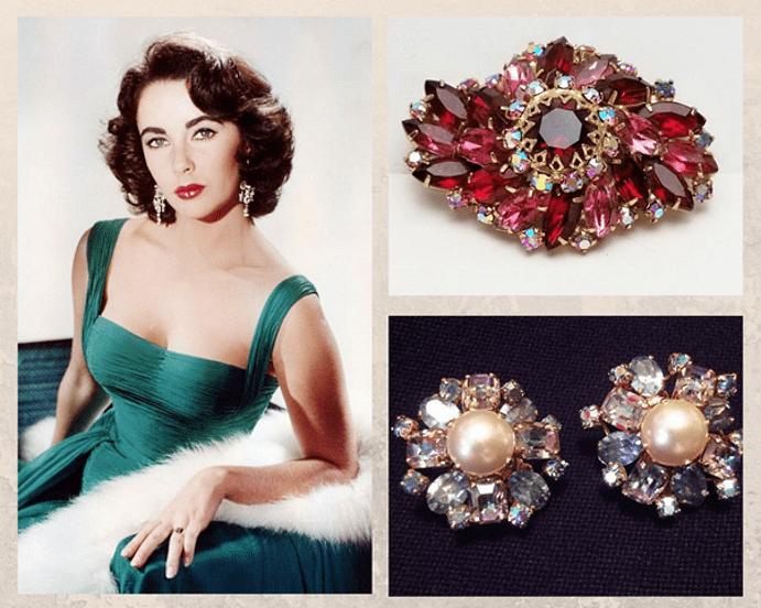 Украшения в стиле New Look : яркие краски 1950-х. История появления