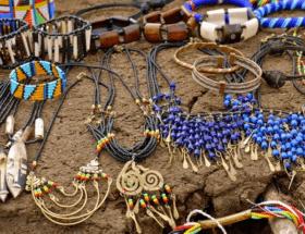 Украшения в африканском стиле для любителей нестандартных решений