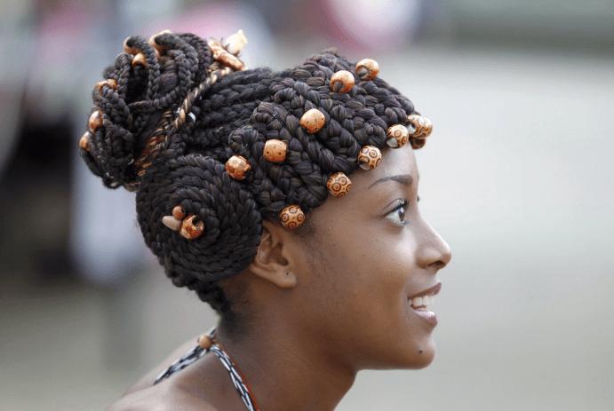 Украшения для афро кос