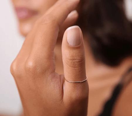 Кольцо на большом пальце: интересные факты. Простое кольцо из золота