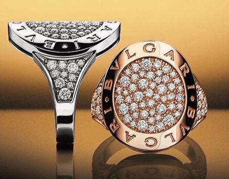 Итальянские ювелирные украшения. Перстень BVLGARI