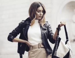 Какие кожаные куртки войдут в моду в 2021 году