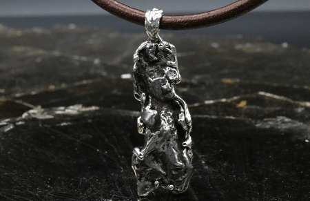Украшения из метеорита: уникальные украшения. Подвеска