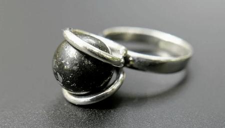 Украшения из метеорита: уникальные украшения. Кольца