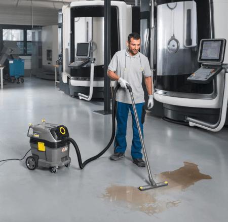 Современные производители промышленных пылесосов предлагают множество вариантов