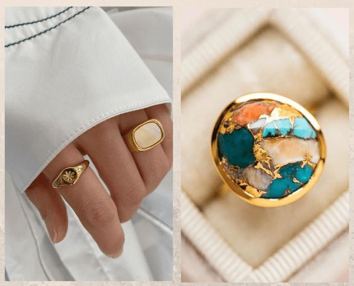Как носить крупные кольца: каждый день и по особому случаю. Решаем, на какой руке носить