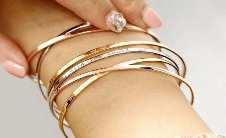 Украшение на руку: модные решения при создании и выборе браслетов. Комбинация золотых браслетов на руку