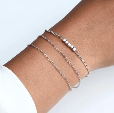 Украшение на руку: модные решения при создании и выборе браслетов. Женский браслет серебряный