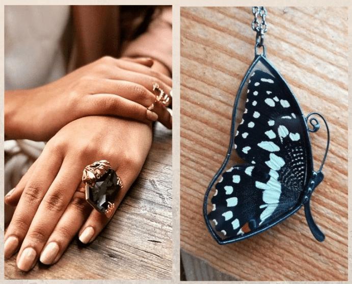 Ювелирные украшения с насекомыми. История популярности