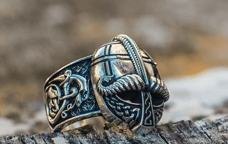 Украшения в скандинавском стиле.  Кольцо викинг