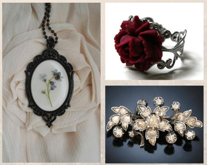 Ювелирные украшения с цветами. Популярные символы