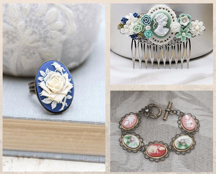 Ювелирные украшения с цветами. Язык цветов в украшениях