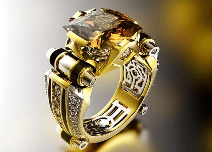 Китайские украшения: особенности изделий. Мужской перстень