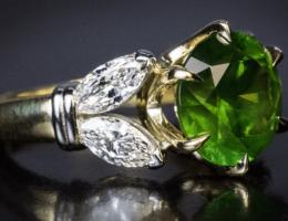 Демантоид — алмазоподобный гранат
