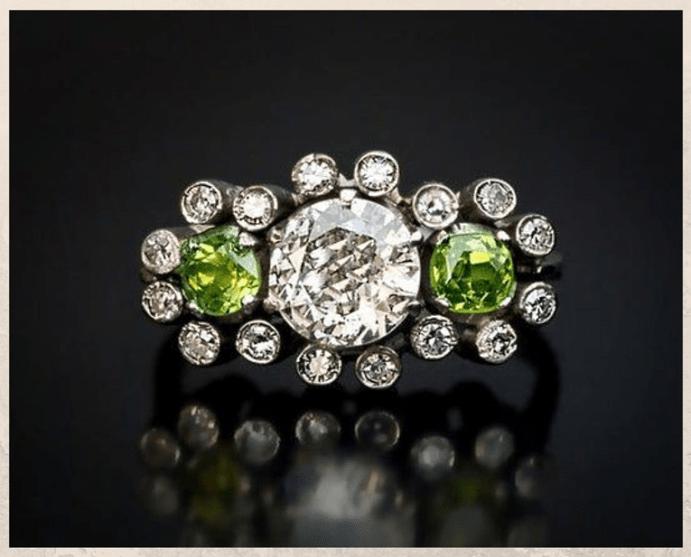 Демантоид — алмазоподобный гранат. Где используется