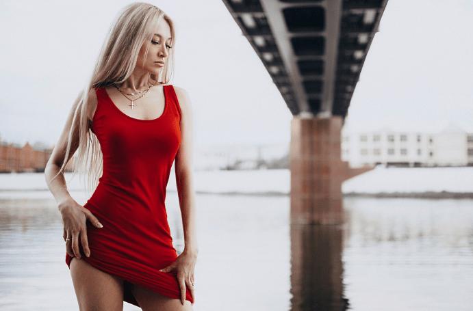 Украшения к красному платью: как выбирать и носить. Золотые цепи и кольца