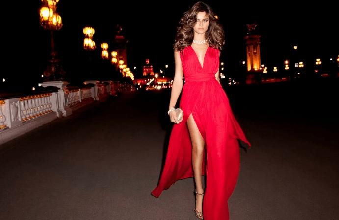 Украшения к красному платью: как выбирать и носить. Сочетание белых украшений с красным платьем