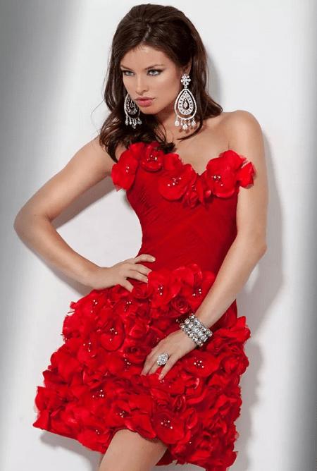 Украшения к красному платью: как выбирать и носить. Бриллиантовые украшения