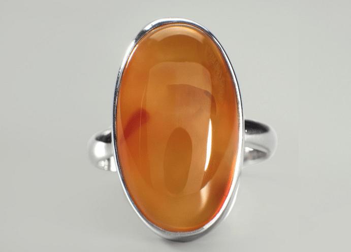 Украшения из сердолика: обзор ювелирных изделий. Перстень
