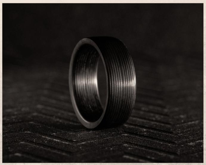 Карбоновые кольца: легкие, практичные и ультрасовременные. Что такое карбон