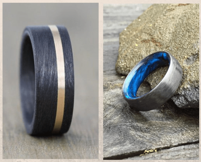 Карбоновые кольца: легкие, практичные и ультрасовременные. Преимущества