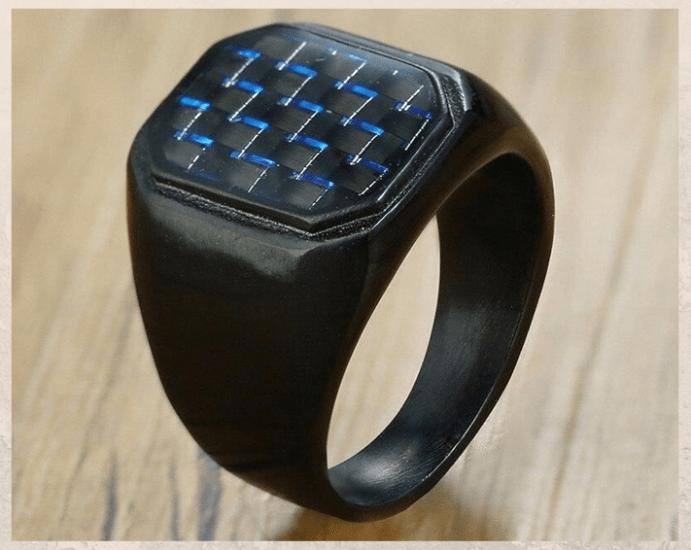 Карбоновые кольца: легкие, практичные и ультрасовременные. Требования к уходу