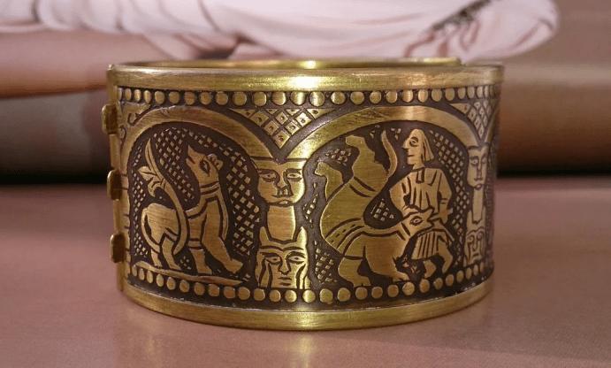 Ювелирные украшения из латуни. Браслет