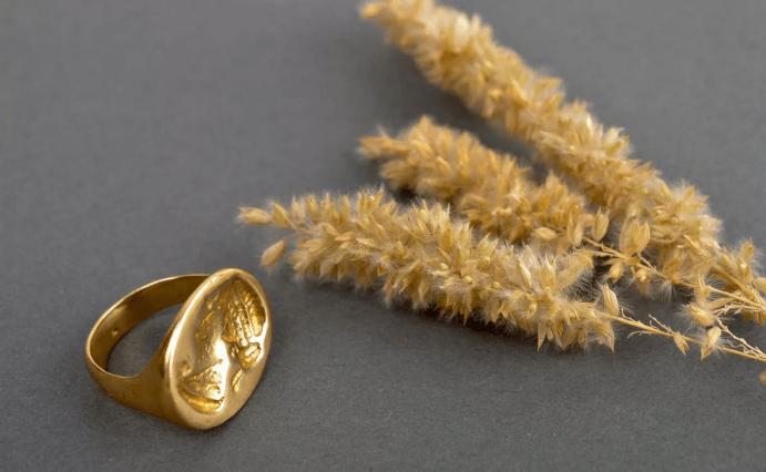 Ювелирные украшения из латуни. Кольцо